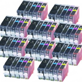 Canon PGI-5 & CLI-8 Black & Color 50-pack Ink Cartridges