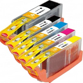 Canon PGI-250XL / CLI-251XL Compatible Inkjet Cartridge 15-Pack