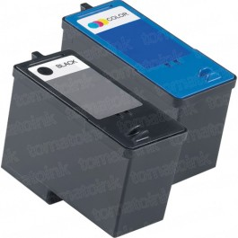 Dell (Series 5) M4640 Black & M4646 Color 2-pack Ink Cartridges