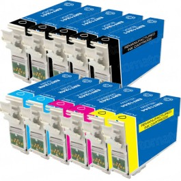 Epson 124 T124 Black & Color 11-pack Ink Cartridges