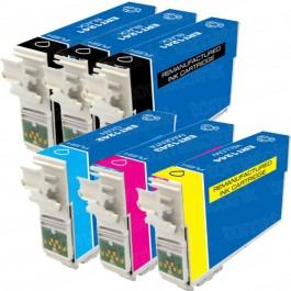 Epson 124 T124 Black & Color 6-pack Ink Cartridges