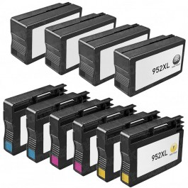 HP 952XL Black & Color 10-pack High Yield Ink Cartridges