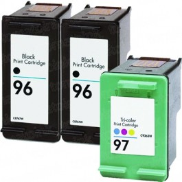 HP 96 Black & HP 97 Color 3-pack Ink Cartridges