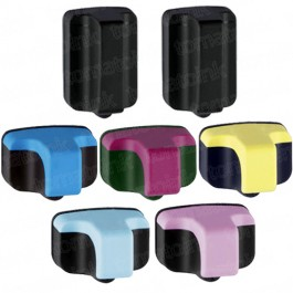 HP 02 Black & Color 7-pack Ink Cartridges