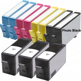 HP 564XL Black & Color 11-pack High Yield Ink Cartridges