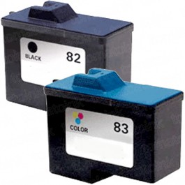 Lexmark #82 Black & #83 Color 2-pack Ink Cartridges