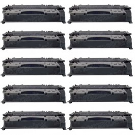 Canon 119 II (10-pack) High Yield Black Toner Cartridges