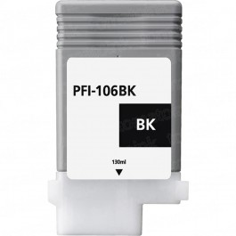 Canon PFI-106BK Black Inkjet Cartridge
