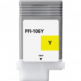Canon PFI-106Y Yellow Inkjet Cartridge
