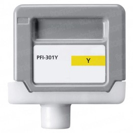 Canon PFI-301Y Yellow Ink Cartridge