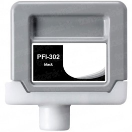 Canon PFI-302BK Black Ink Cartridge