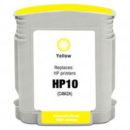 HP 10 C4842A Yellow Ink Cartridge