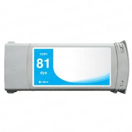 HP 81 C4931A Cyan Ink Cartridge