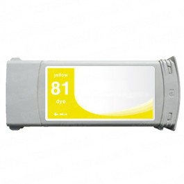 HP 81 C4933A Yellow Ink Cartridge