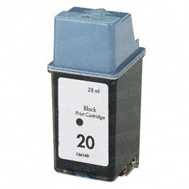 HP 20 C6614DN Black Ink Cartridge