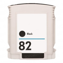 HP 82 CH565A Black Ink Cartridge