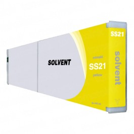 Mimaki SS21Y / SPC-0501Y Yellow Ink Cartridge