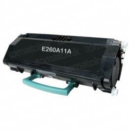 Lexmark E260A11A Black Laser Toner Cartridge