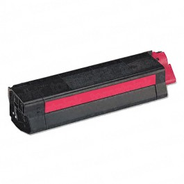 Okidata C5100 High Yield Magenta Laser Toner Cartridge