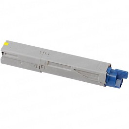 Okidata C3400 High Yield Yellow Laser Toner Cartridge