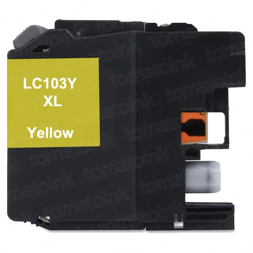 Brother LC103 XL Black & Color 4-pack High Yield Ink Cartridges