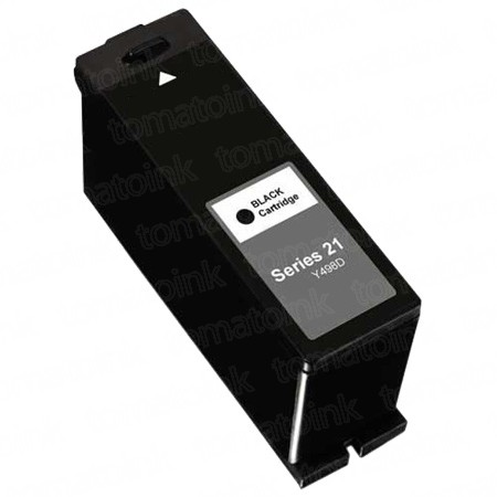 Dell (Series 21) Y498D Black & Y499D Color 4-pack Ink Cartridges
