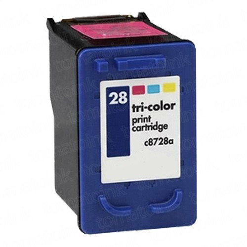 HP 27 Black & HP 28 Color 3-pack Ink Cartridges