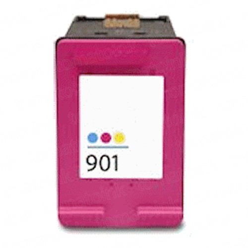 HP 901XL High Yield Black & Color 3-pack Ink Cartridges