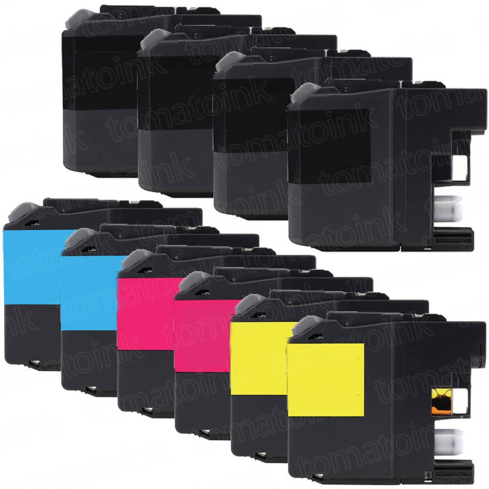 Brother LC203 Black & Color 10-pack High Yield Ink Cartridges