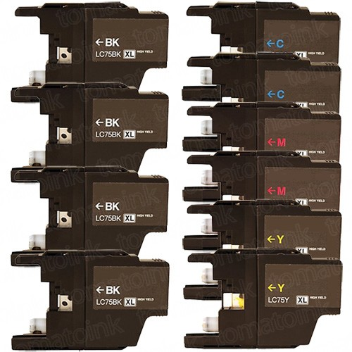 Brother LC75 Black & Color 10-pack High Yield Ink Cartridges