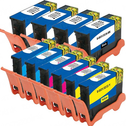 Dell (Series 33 & 34) 10-pack Extra High Yield Ink Cartridges