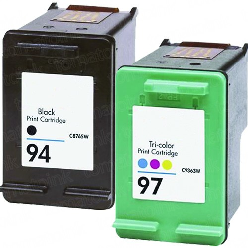 HP 94 Black & HP 97 Color 2-pack Ink Cartridges