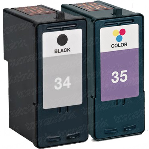 Lexmark #34 Black & #35 Color 2-pack Ink Cartridges