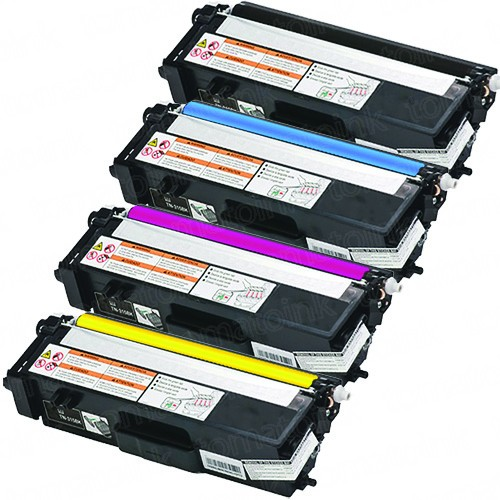 Brother TN315 Black & Color 4-pack High Yield Toner Cartridges
