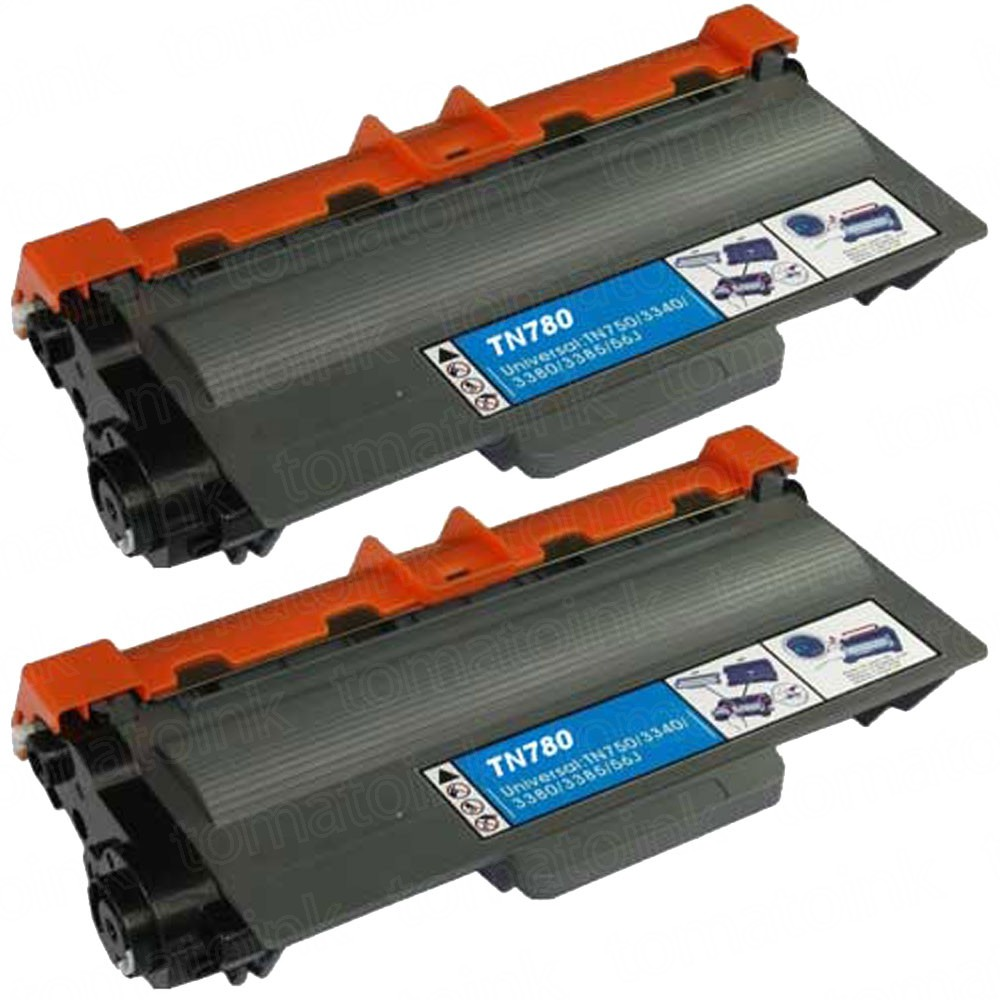 Brother TN780 (2-pack) Extra High Yield Black Toner Cartridges