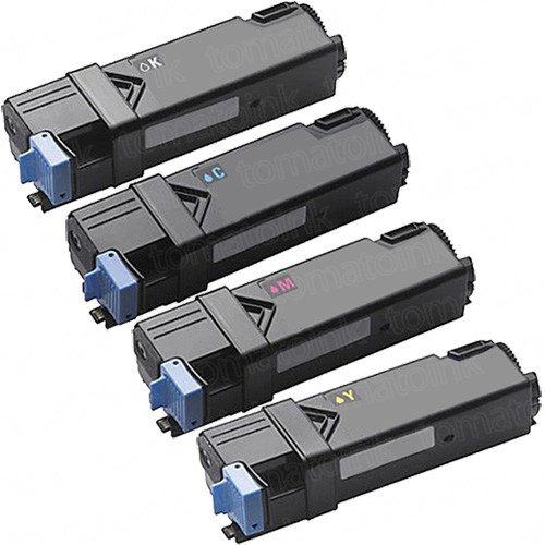 Dell 2150cn (4-pack) High Yield Toner Cartridges