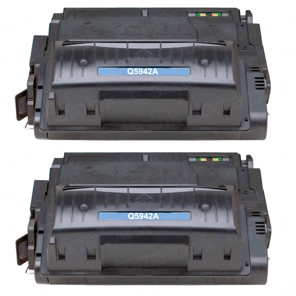 HP 42A (Q5942A) 2-pack Black Toner Cartridges