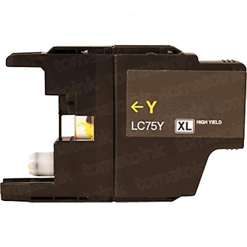 Brother LC75Y HY Yellow Ink Cartridge