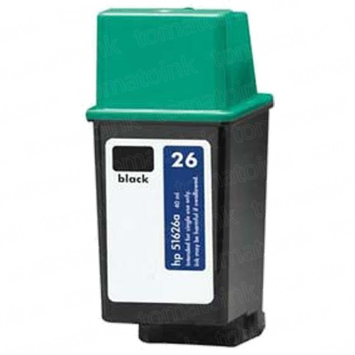 HP 26 51626A Black Ink Cartridge