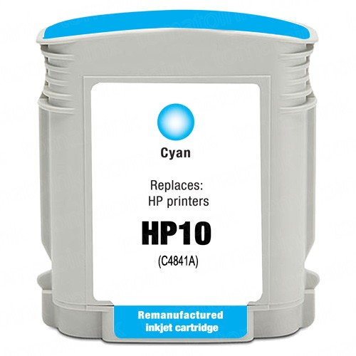 HP 10 C4841A Cyan Ink Cartridge