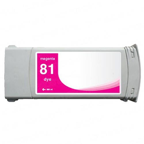HP 81 C4932A Magenta Ink Cartridge