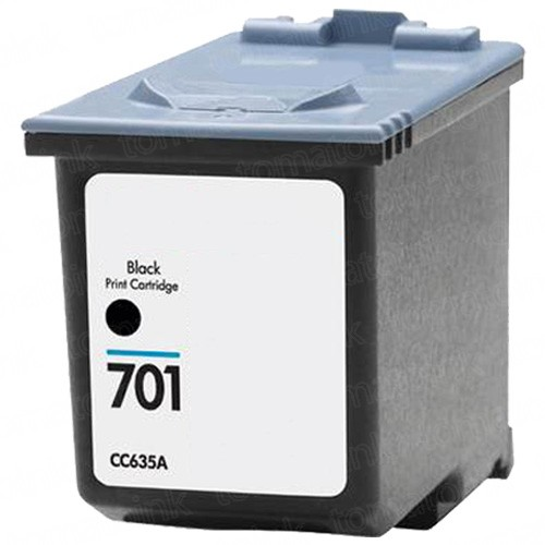 HP 701 CC635A Black Ink Cartridge
