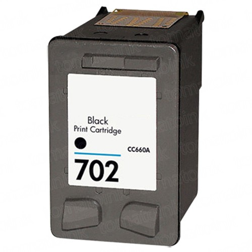 HP 702 CC660AA Black Ink Cartridge