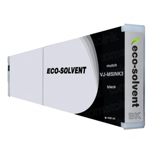 Mutoh VJMSINK3BK Eco-Ultra Black Ink Cartridge