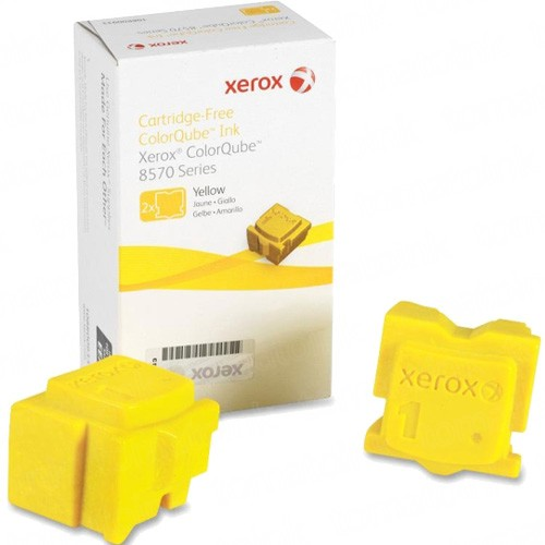Xerox 108R00928 / ColorQube 8570 OEM Yellow Solid Ink Cartridge