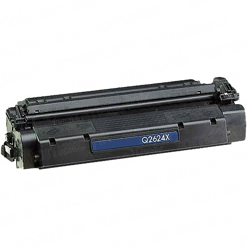HP Q2624X (24X) Black Laser Toner Cartridge