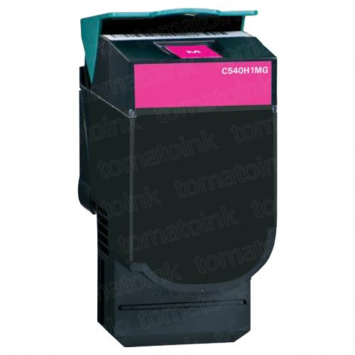 Lexmark C540H2MG High Yield Magenta Laser Toner Cartridge