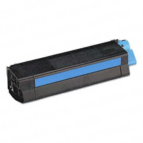 Okidata C5100 High Yiled Cyan Laser Toner Cartridge