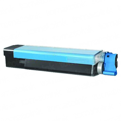 Okidata C5500 High Yield Cyan Laser Toner Cartridge