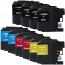 Brother LC103 XL Black & Color 10-pack Ink Cartridges